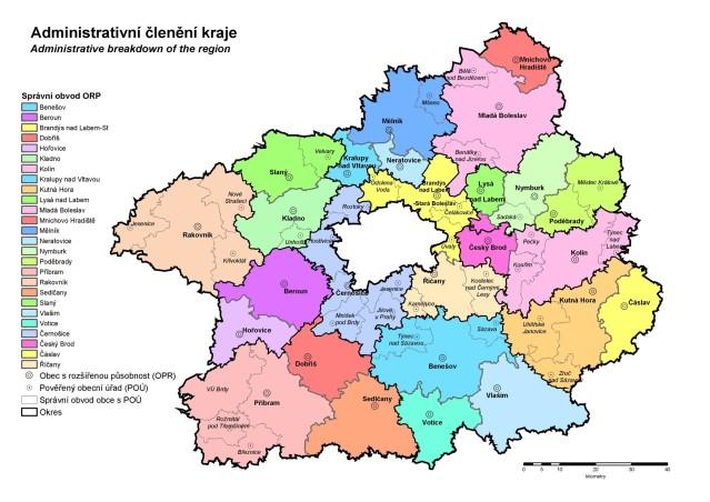 stredocesky kraj mapa 1
