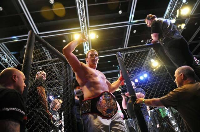 Viktor Pešta -vítěz GCF v těžké váze Foto zdroj GCF