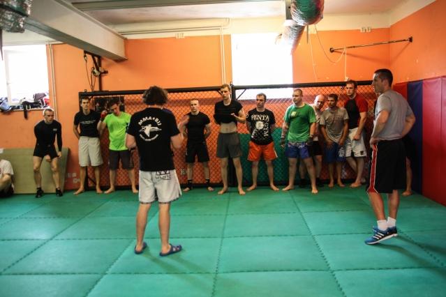 Viktor trénuje pod vedením Dana Bartáka v Penta gym